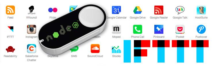 Ifttt mit Amazon Dash Button steuern - node js dasher linux rasperry pi