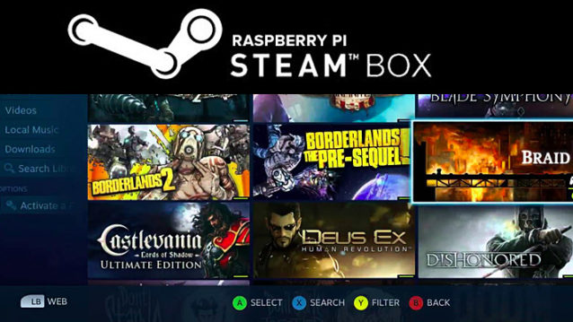 Moonlight - Raspberry Pi Steam Box