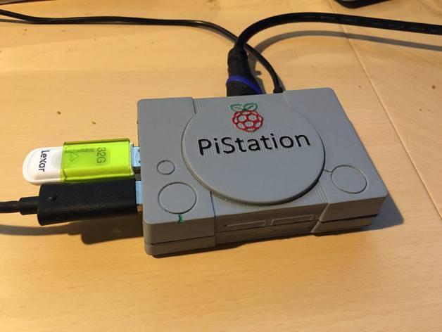 Raspberry Pi Playstation Gehäuse 3d drucker