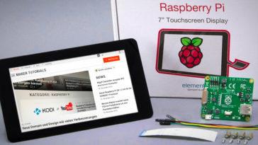 7 Raspberry Pi Touchscreen installieren anschließen tipps tricks