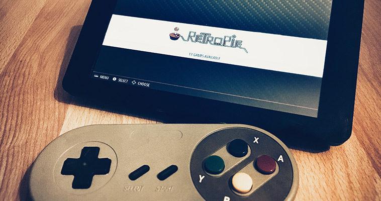 Raspberry Pi RetroPie installieren und Retro Spiele spielen