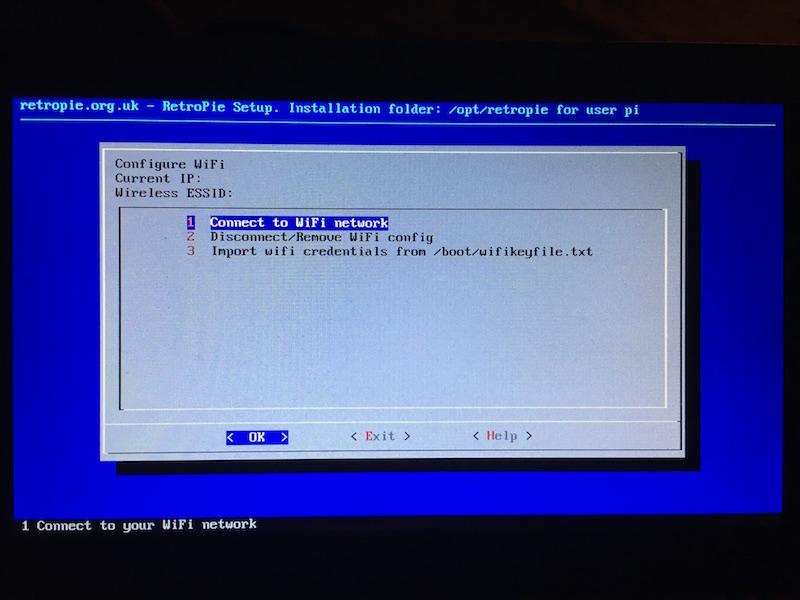 Raspberry Pi RetroPie Wifi WLAN einrichten einstellen raspberry pi retropie installieren