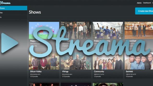 Streama installieren Netflix video stream self hosted Raspberry Pi 3 Debian Linux Anleitung tutorials