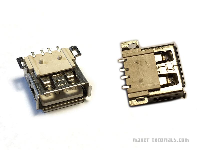 Raspberry Pi Zero USB Type-A Buchse Female add erweitern anlöten