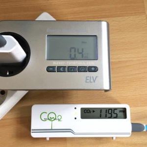 CO2-Messgerät AirCO2ntrol Stromkosten ELV Energy Master Basic