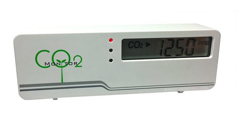 CO2-Messgerät AirCO2ntrol Platine Innenleben