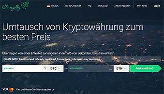 changelly Exchange - Bitcoin, Ethereum, Ripple, Neo