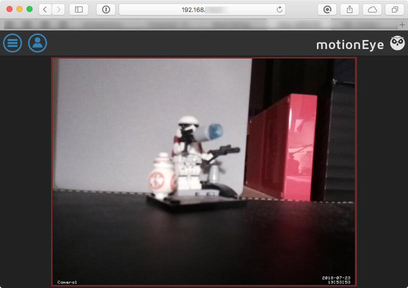 Überwachungskamera mit Raspberry Pi MotionEyeOS