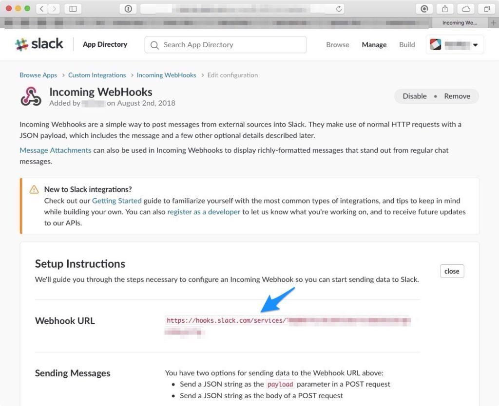 motioneyeos slack push notification motion bewegungserkennung benachrichtigung